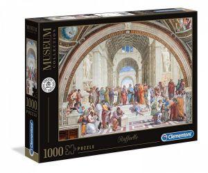 Puzzle Clementoni 1000 dílků - Museum - Raffaello - Aténská škola  39483