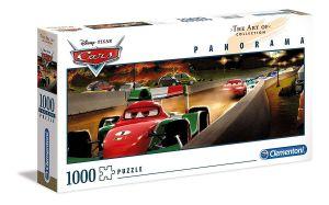 Puzzle Clementoni 1000 dílků  panorama - CARS - Auta    39488