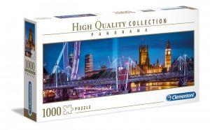 Puzzle Clementoni 1000 dílků  panorama - Londýn  39485