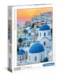 Puzzle Clementoni 1000 dílků - Santorini  39480