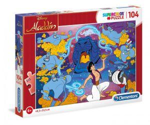 Puzzle Clementoni  - 104 dílků  -  Aladin  27283
