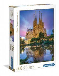Puzzle Clementoni 500 dílků  - Barcelona    35062