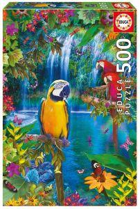 Puzzle EDUCA 500 dílků - Tropický ráj  15512