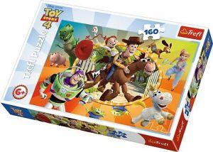 Puzzle   Trefl  160 dílků - Toy Story -  ve světě hraček  15367