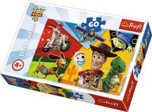 Puzzle   Trefl 60 dílků - Toy Story - Stvořeni ke hraní   17325