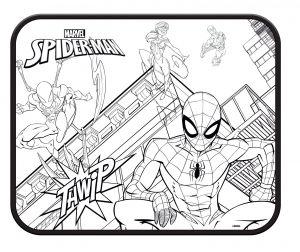 Stínítko do auta ( sluneční clona ) 2 ks - Spiderman 2ks + plakát Diakakis