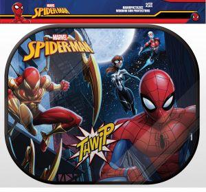 Stínítko do auta ( sluneční clona ) 2 ks - Spiderman  2ks + plakát