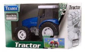 TEAMA - traktor  1:43 - modrá  barva