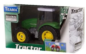 TEAMA - traktor  1:43 - zelená   barva