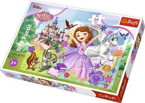 Trefl Puzzle Maxi 24 dílků - Sofie První - barevný svět 14270