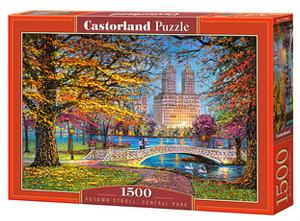 Castorland  Puzzle 1500 dílků  Podzimní procházka v Central parku  151844