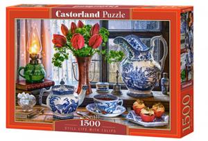 Castorland  Puzzle 1500 dílků  Zátiší s tulipány  151820