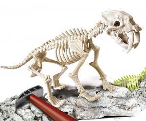 Clementoni zkameněliny - Smilodon   60891