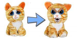 Feisty Pets  rezavá kočka    - plyšová 20 cm