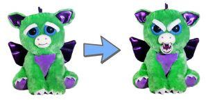 Feisty Pets  zelený dráček  - plyšový  20 cm