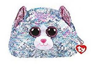 Meteor TY - plyšová kosmetická taštička - kočička WHIMSY   95823