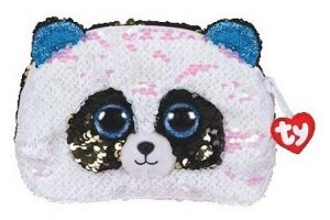 Meteor TY - plyšová kosmetická taštička - panda  BAMNOO  95825