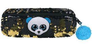 Meteor TY - plyšový penál - pouzdro - panda BAMBOO   95855