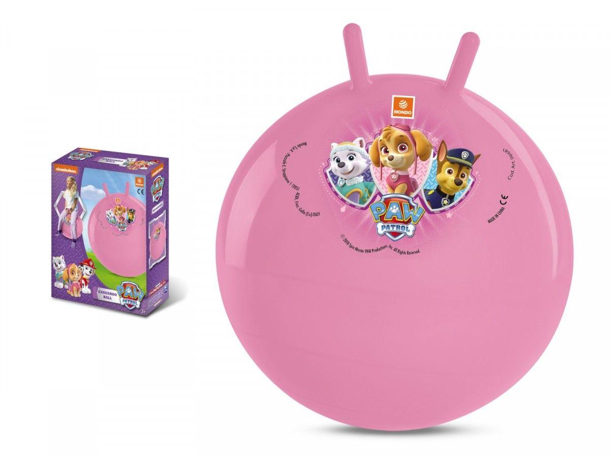 Mondo - hopsadlo - skákací míč 50 cm - tlapková patrola - růžový