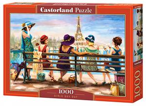 Puzzle Castorland  1000 dílků - Dámy před Eifelovkou  104468