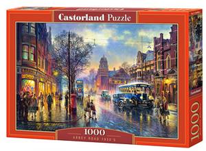 Puzzle Castorland  1000 dílků - Klášterní ulice 1930´ 104499