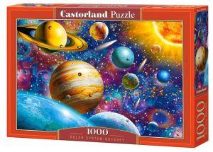 Puzzle Castorland  1000 dílků -  Sluneční soustava Odyssey 104314
