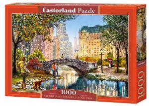 Puzzle Castorland  1000 dílků - Večerní procházka v Central Parku 104376