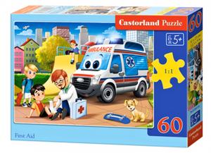 Puzzle Castorland 60 dílků - První pomoc  066193