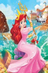 Puzzle mini 54 d - Trefl - Ve světě princezen - Ariel 19646