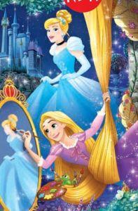Puzzle mini 54 d - Trefl - Ve světě princezen - Locika a Popelka 19648