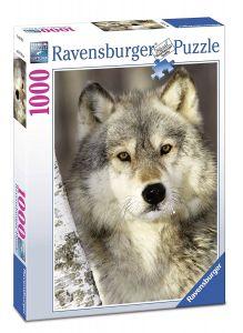 Puzzle Ravensburger 1000 dílků - Vlk  197613