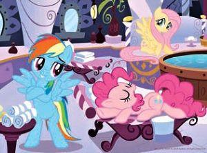 TREFL 20 dílků mini-MAXI - My Little Pony - veselý den 21077