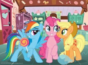 TREFL 20 dílků mini-MAXI - My Little Pony - veselý den 21079