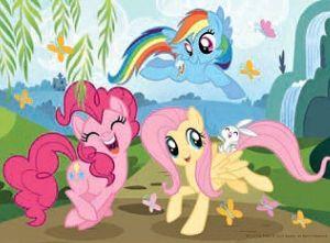 TREFL 20 dílků mini-MAXI - My Little Pony - veselý den 21076