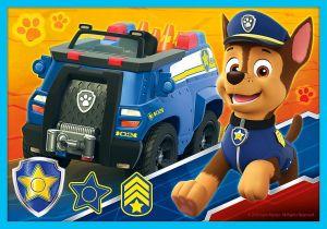 Trefl puzzle 10v1 - Paw Patrol - Tlapková patrola 90355