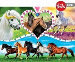 TREFL Puzzle  200 dílků - Krásné koně    13248