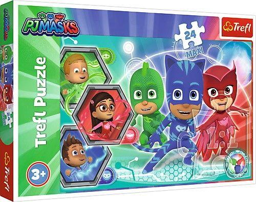 Trefl Puzzle Maxi 24 dílků - Pyžamasky 14299