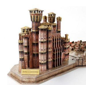 3 D Puzzle CubicFun - Královo přístaviště - Hra o trůny 262 dílků Cubic Fun