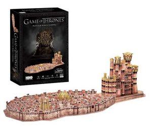 3 D Puzzle CubicFun - Královo  přístaviště - Hra o trůny  262  dílků