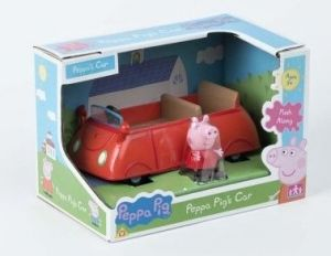 Prasátko PEPPA - auto s figurkou II