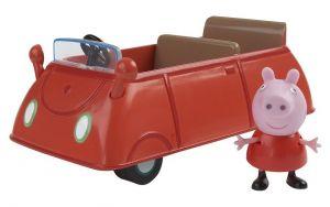Prasátko PEPPA - auto s figurkou II TM Toys