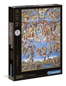 Clementoni Puzzle 1000 dílků Michelangelo, Poslední soud  39497