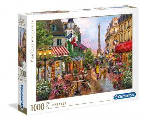 Clementoni Puzzle 1000 dílků Rozkvetlá Paříž   39482