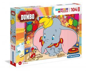Clementoni puzzle 104 dílků MAXI - Dumbo   23728