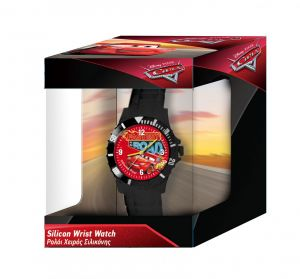 Dětské hodinky - analogové v dárkové krabičce  - CARS - NEW
