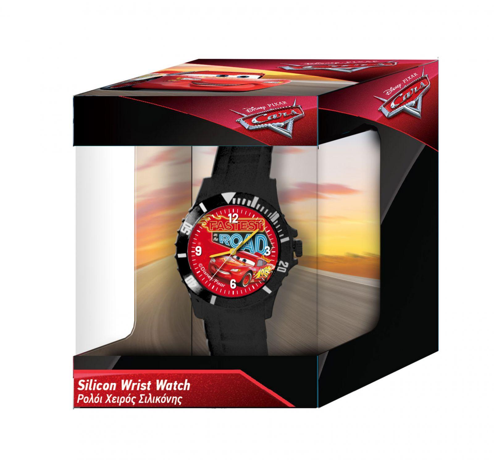 Dětské hodinky - analogové v dárkové krabičce - CARS - NEW Diakakis