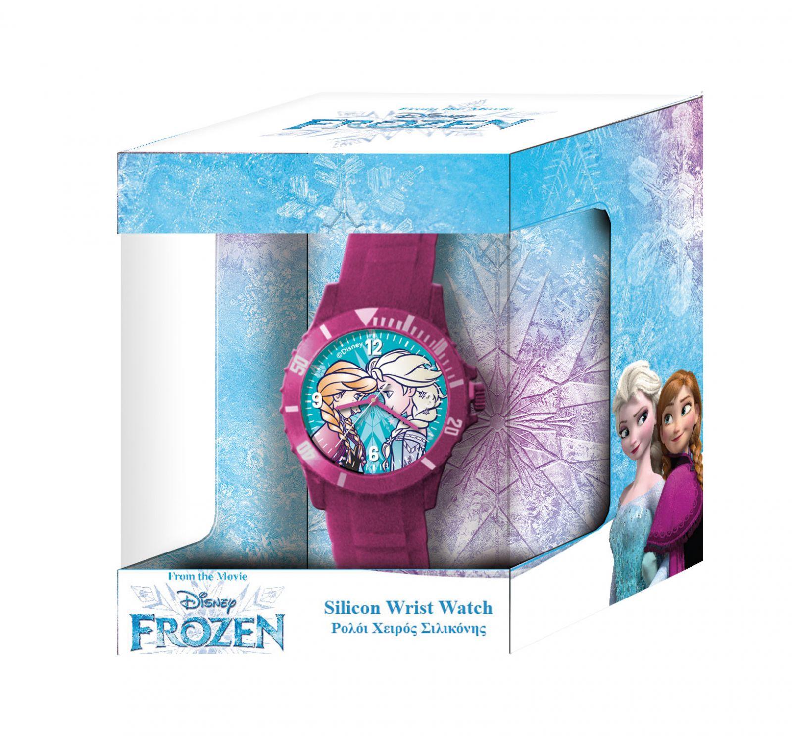 Dětské hodinky - analogové v dárkové krabičce - Frozen - NEW Diakakis