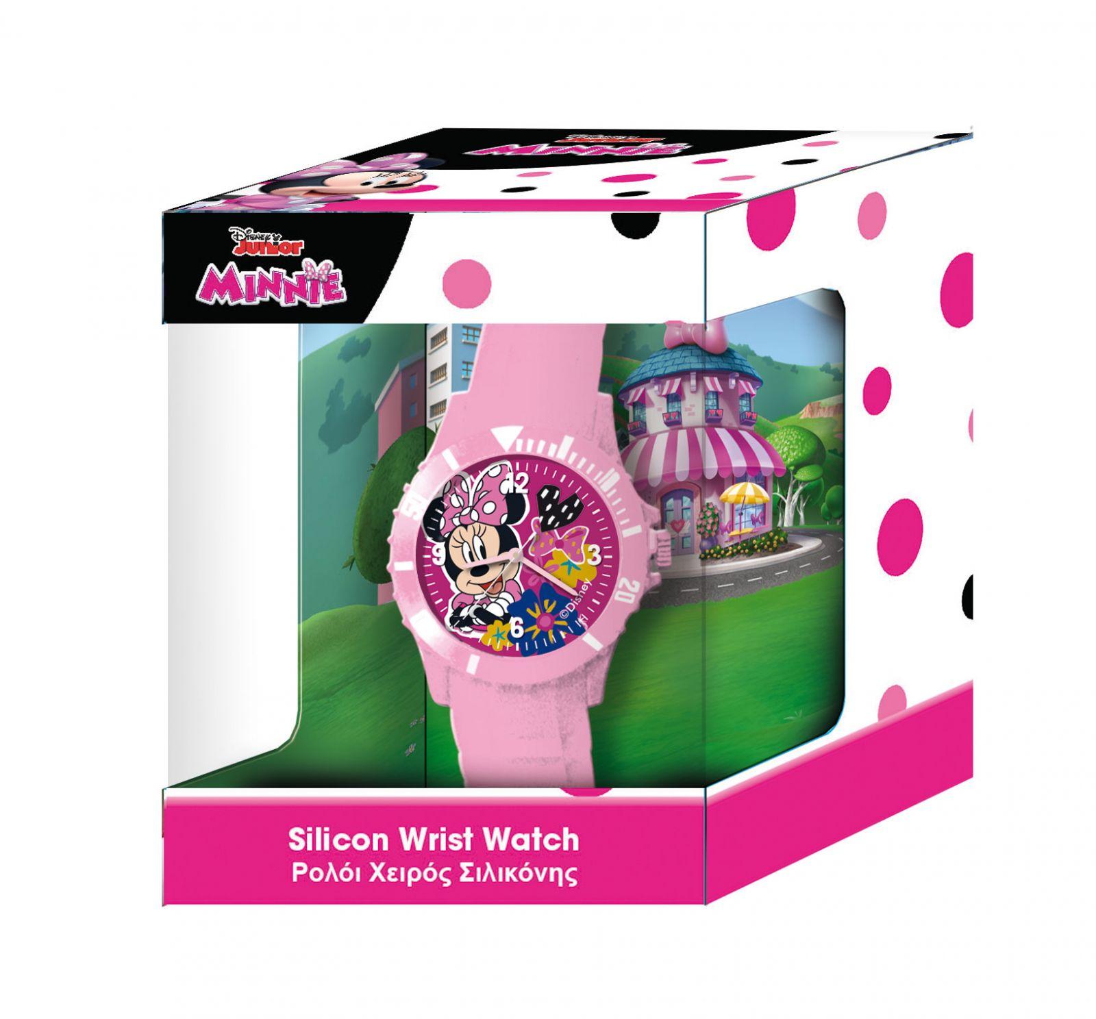 Dětské hodinky - analogové v dárkové krabičce - Minnie Mouse - NEW Diakakis
