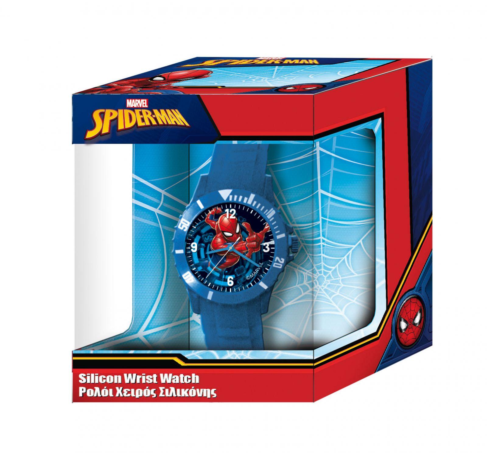 Dětské hodinky - analogové v dárkové krabičce - Spiderman - NEW Diakakis