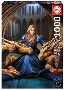 EDUCA Puzzle 1000 dílků -  Anna Stokes - Divoká oddanost  17692